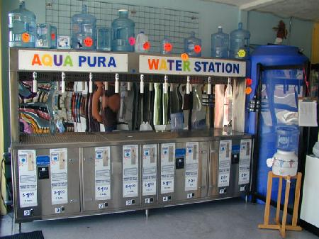 Water Vending Machine - Model WS9 -  Nine seperate Vend Stations